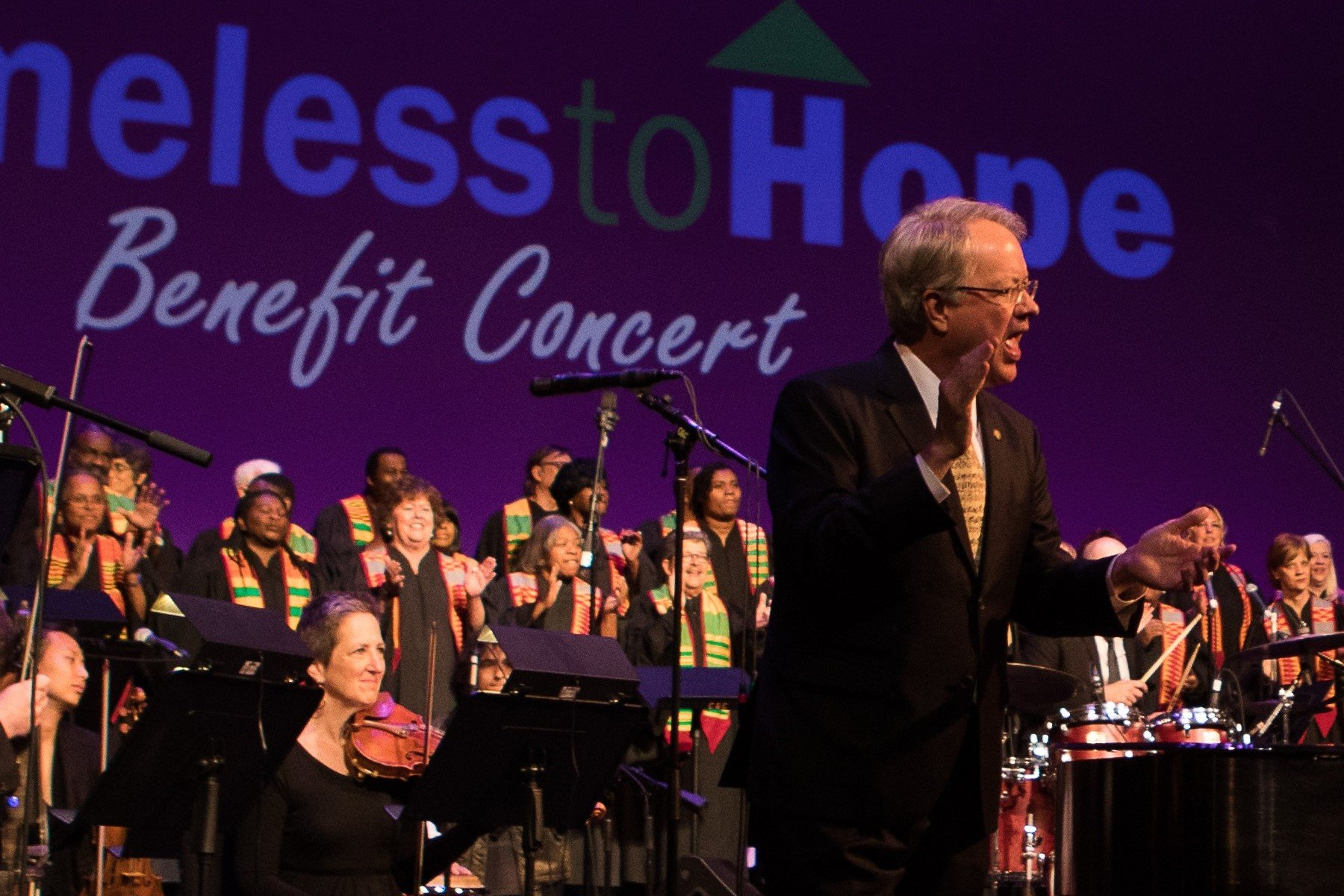 Homeless to Hope Benefit Concert @ Charleston Gaillard Center