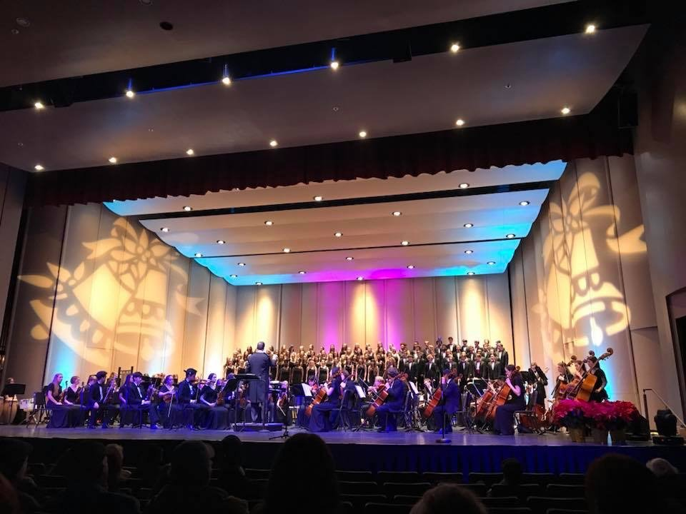 The Charleston School of the Arts Symphony and Singers Present Holiday Spectacular