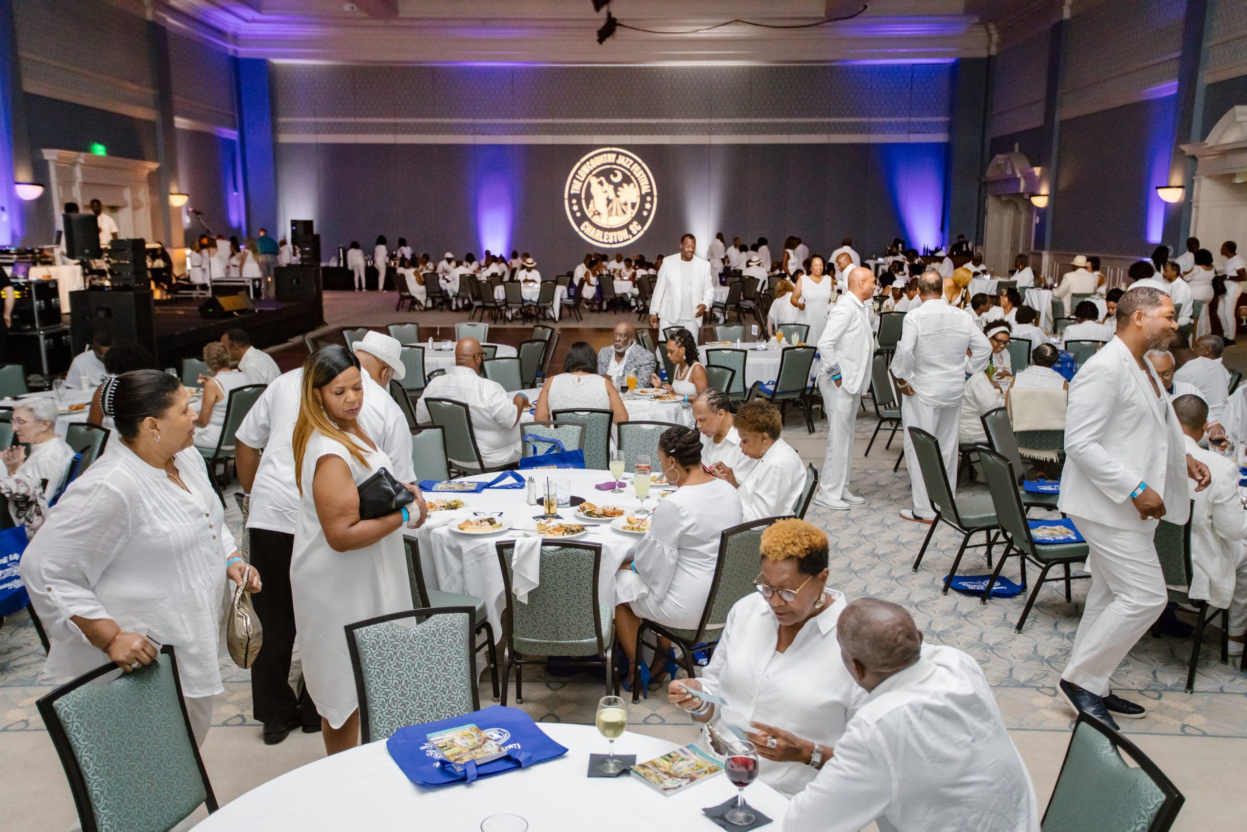 LOWCOUNTRY JAZZ FESTIVAL WHITE PARTY @ Charleston Gaillard Center