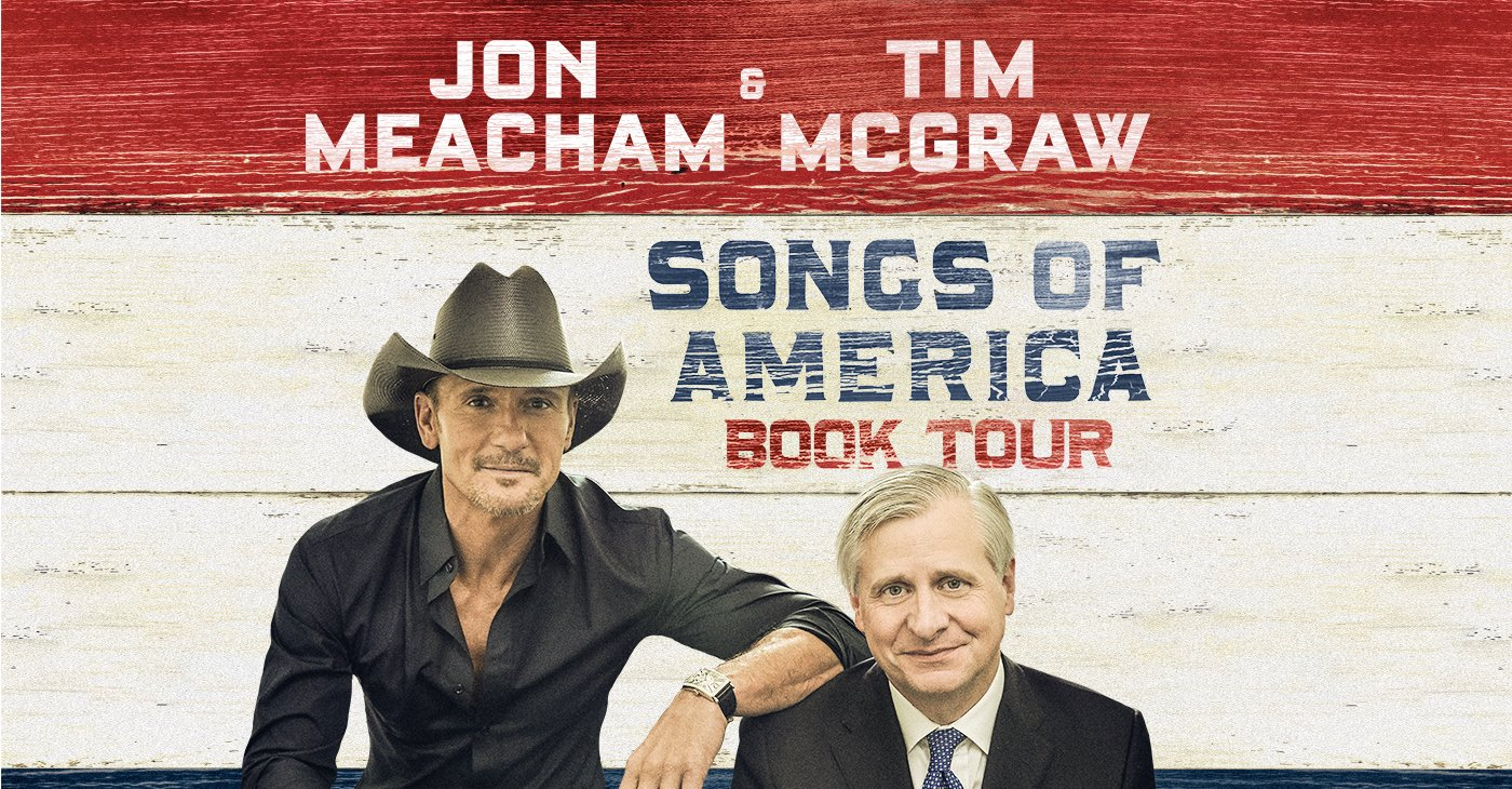 Songs of America: Jon Meacham and Tim McGraw @ Charleston Gaillard Center