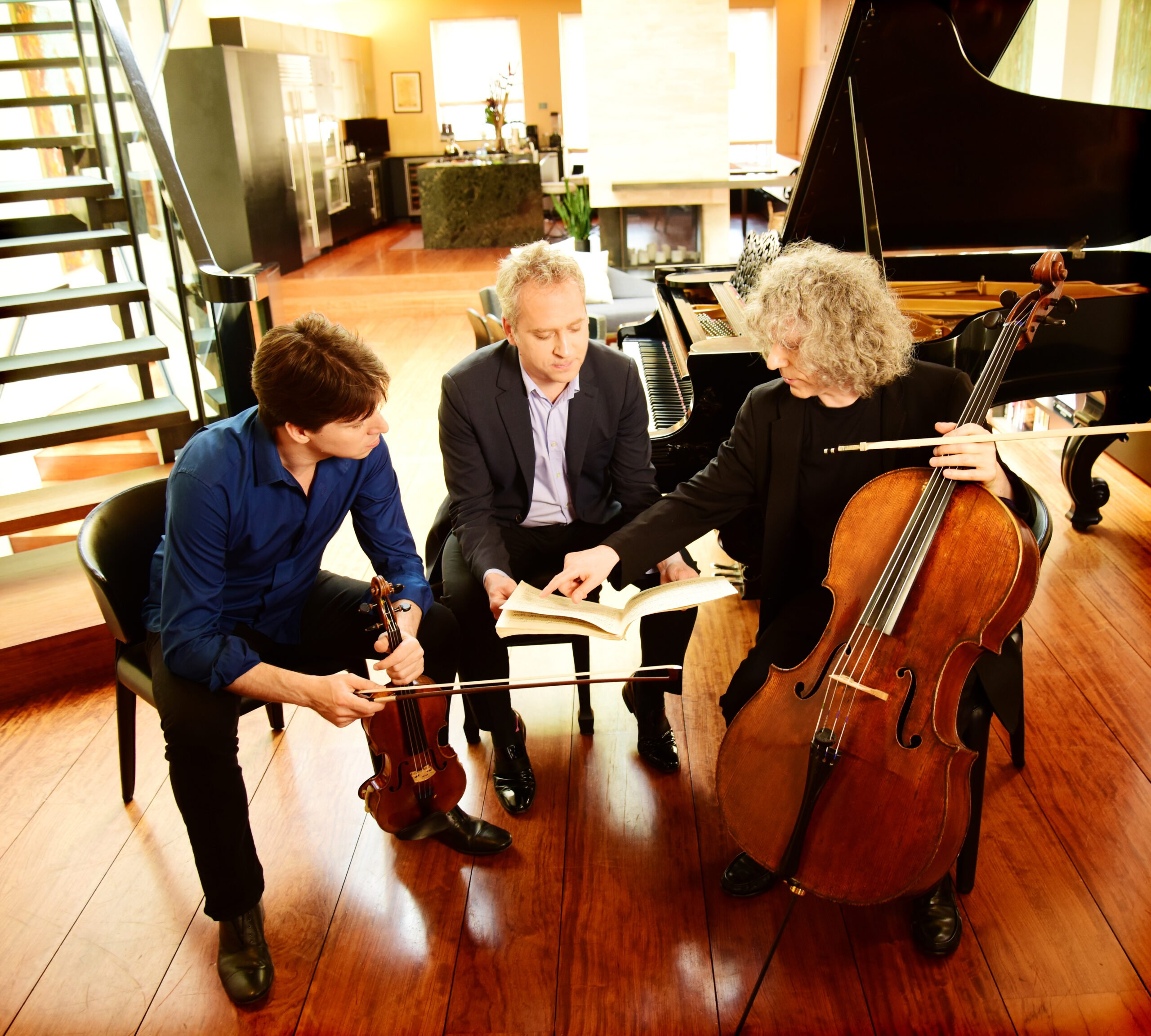 BELL-DENK-ISSERLIS TRIO @ Charleston Gaillard Center