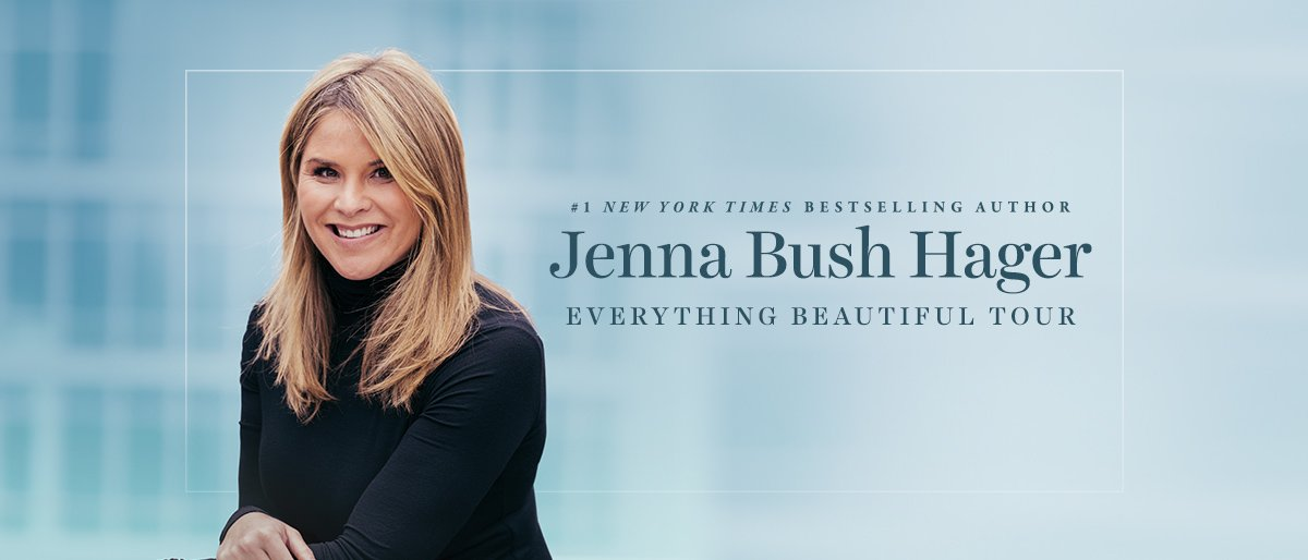 Jenna Bush Hager @ Charleston Gaillard Center