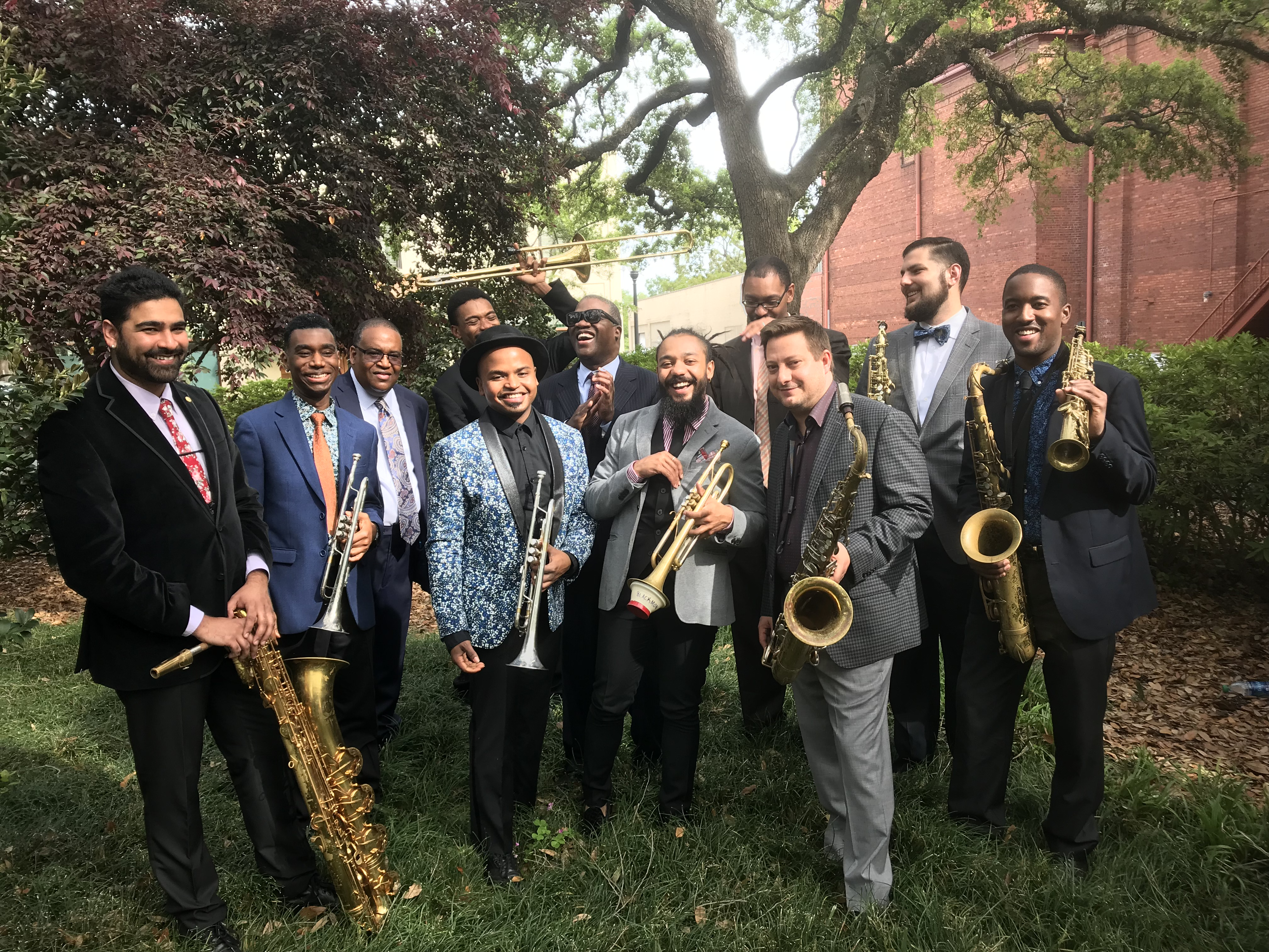 Marcus Roberts and the Modern Jazz Generation Band @ Charleston Gaillard Center