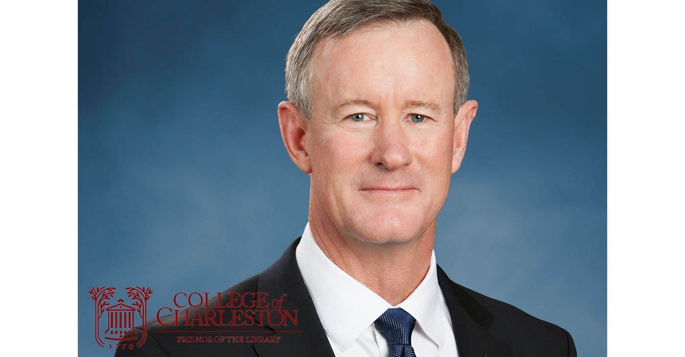 A Life in Lessons: A Conversation with William McRaven @ Charleston Gaillard Center