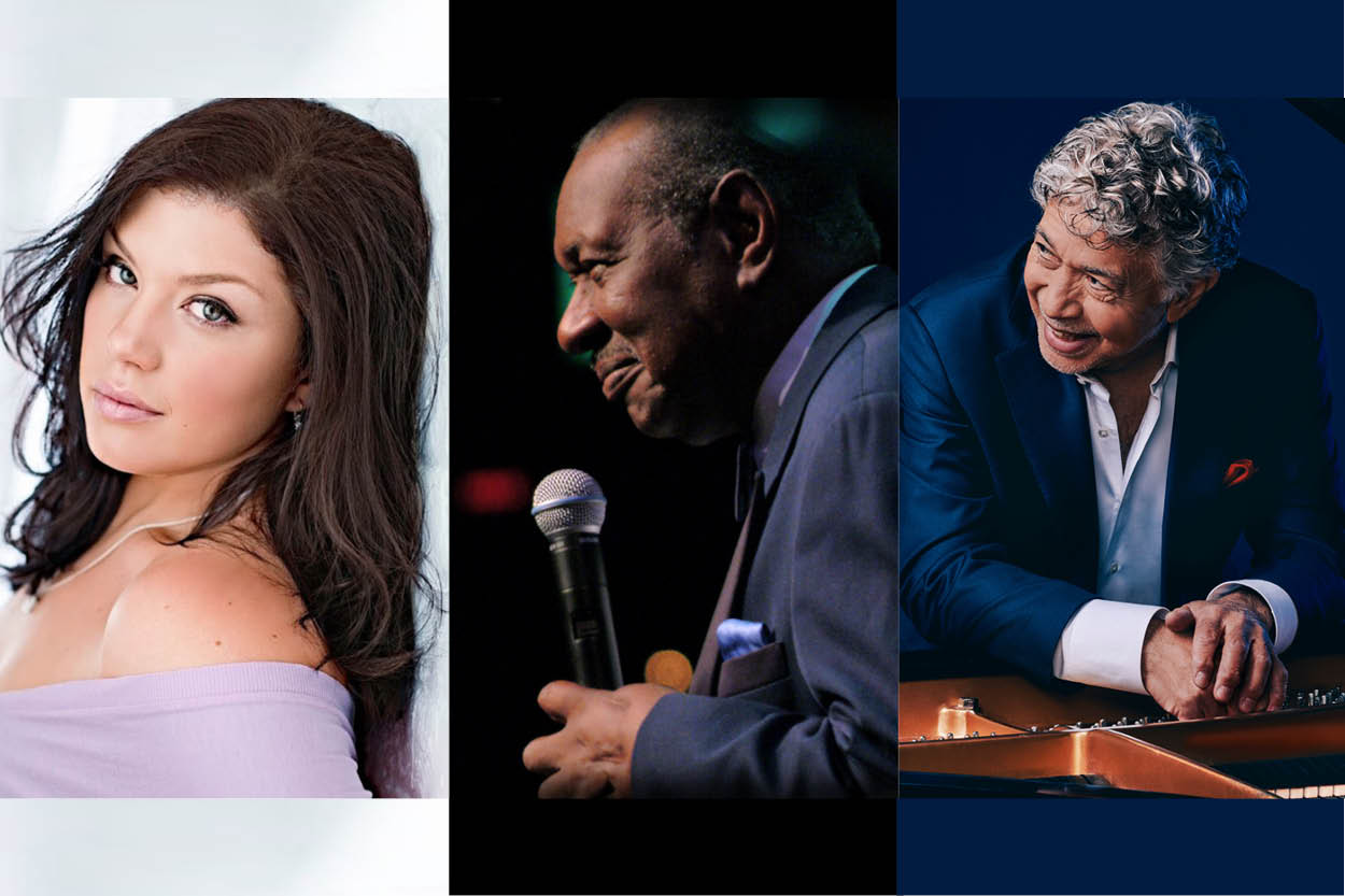 Jane Monheit and Freddy Cole with the Charleston Jazz Orchestra
