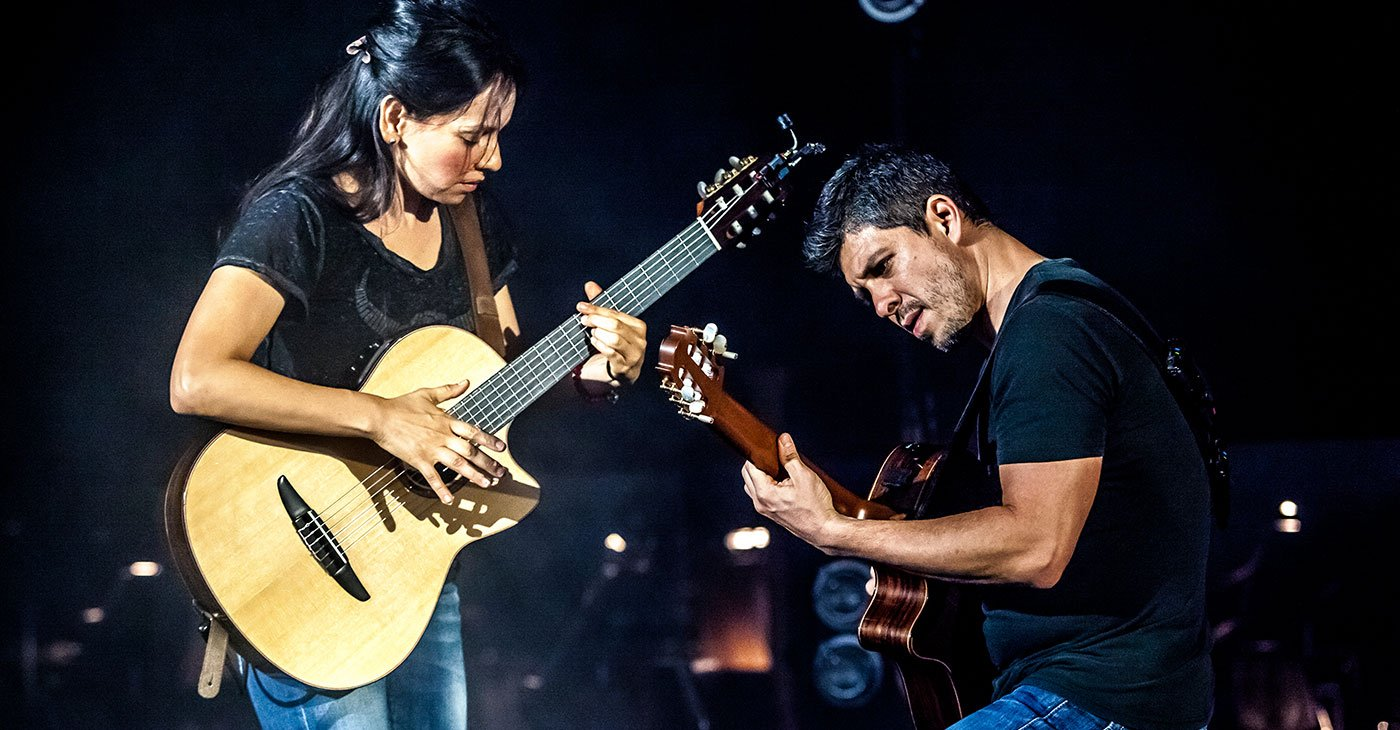 Rodrigo Y Gabriela: Tenth Anniversary Tour  with Marc Scibilia @ Charleston Gaillard Center
