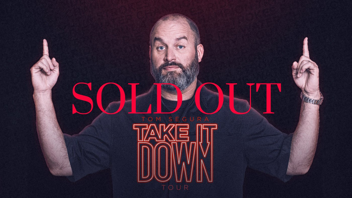 Tom Segura @ Charleston Gaillard Center | Charleston | South Carolina | United States
